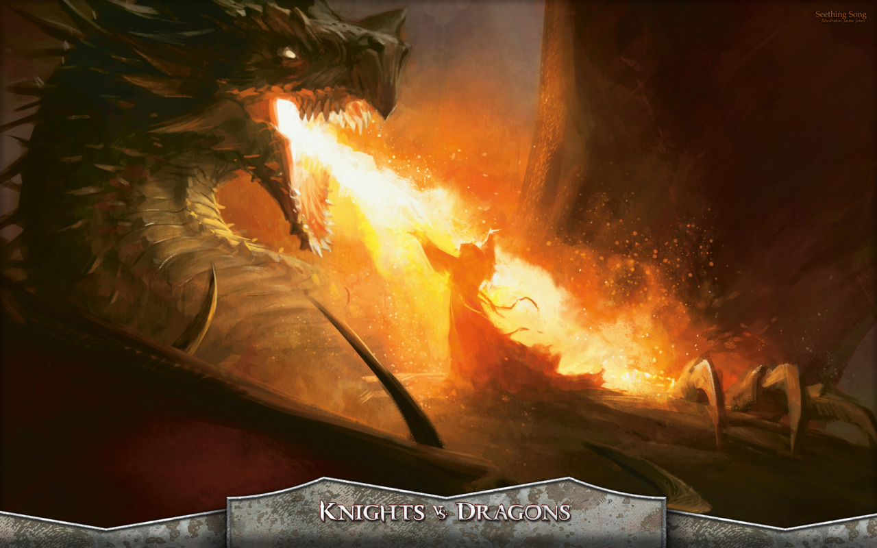 Seething Song - Knights versus Dragons - By Jamie Jones