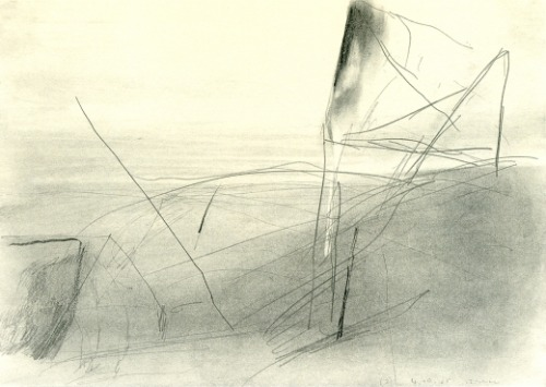Gerhard Richter, 1985.  21 x 29.7 cm, Graphite on paper more Gerhard Richter