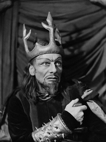 John Gielgud in Macbeth at the Piccadilly Theatre,  London, 1942 por John Anthony Fuente: Corbis Vía Zoopat: Mis Macbeth