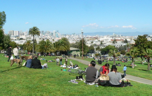 Dolores Park, Mission District [April 9th]