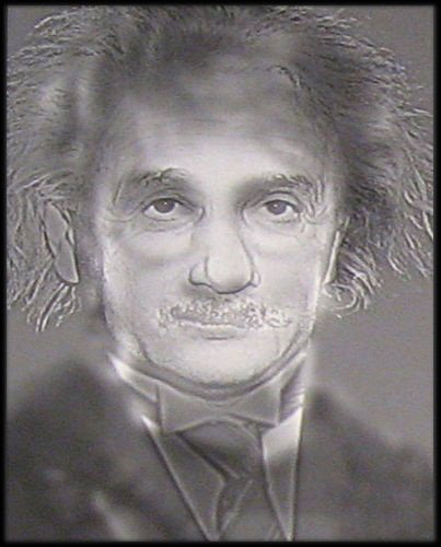 Optical Illusions Turn Albert Einstein into Harry Potter simply by squinting your eyes.