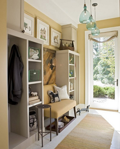 trelica:  Custom Mudroom