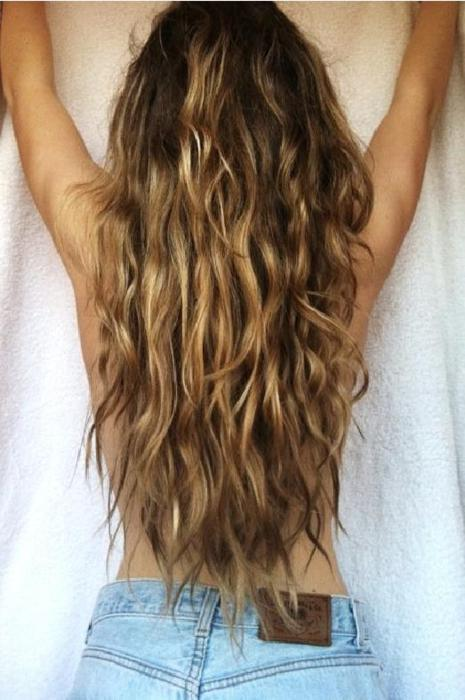 I cannot wait for beach hair.