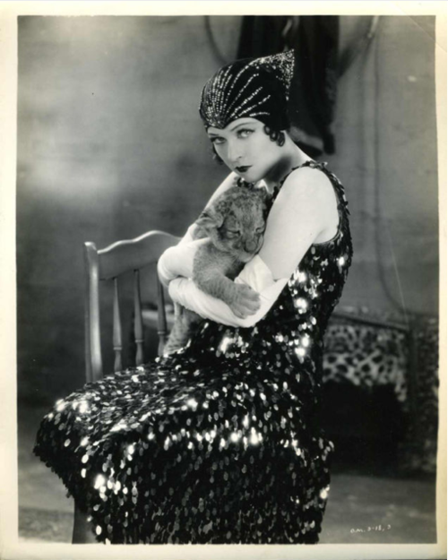 "vintagegal:  Jacqueline Logan in ""Leopard Lady"" 1928"