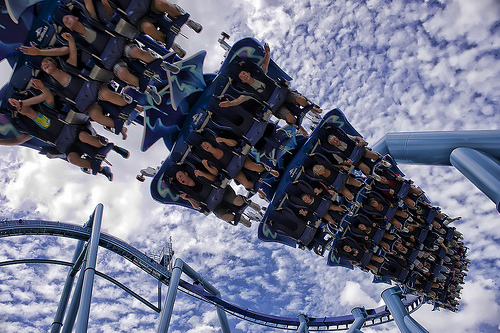fadingtoofast:   I hate roller coasters, but holy shit this is cool.