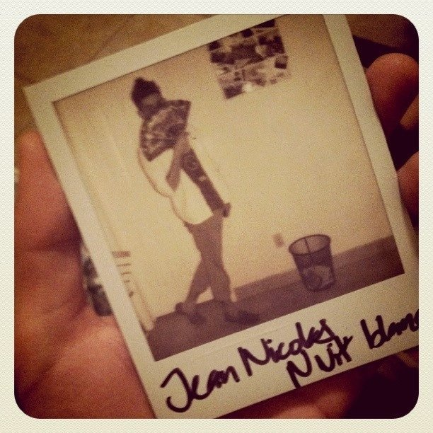 Nuit blanche Polaroid (Taken with instagram)