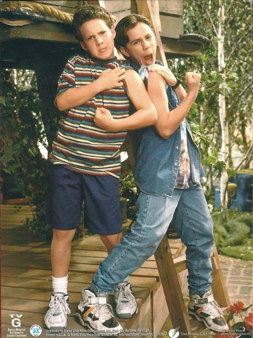 This might be the best picture of Cory and Shawn ever taken. #90sgirlsolutions