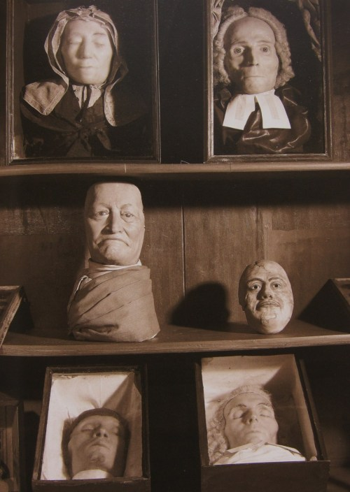 unnaturalist:  Death masks from the Halle collection
