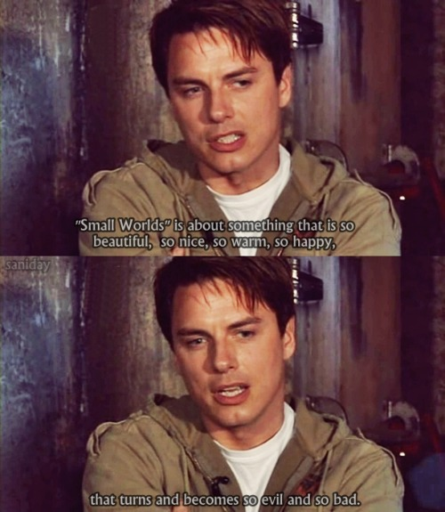 "John about episode ""Small Worlds"" [Torchwood Declassified]"