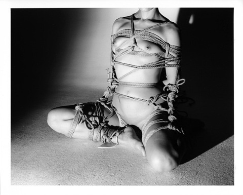 From the series Kinbaku  by Nobuyoshi Araki [also & more@queering]