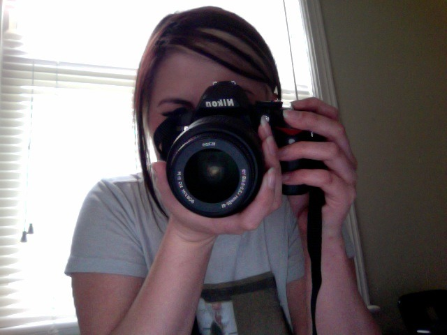 The new love of my life, my Nikon D3000.