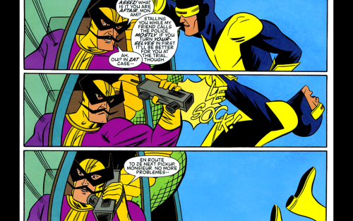 ohmygil:  wtfxmen:  LE SOCK  Not gonna lie, after the Batroc and Cyclops one-shots, I really really REALLY love The Leaper.  I am guessing this was when Cyclops was a newbie.