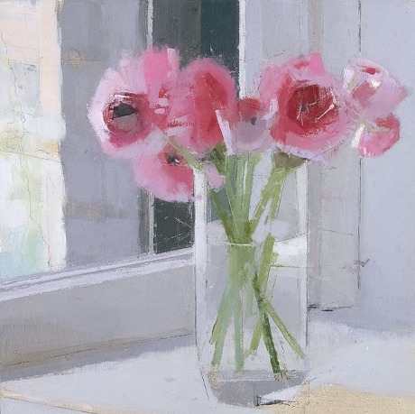 stilllifequickheart:  Lisa Breslow Flowers in a Glass Vase, II 2010