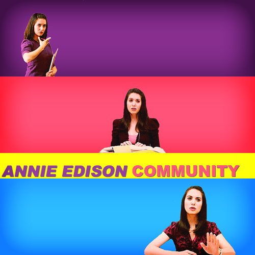 "top 50 tv characters (in alphabetical order) Annie Edison | Community""THE OTHER DAY AFTER SPANISH I THOUGHT HE WAS TRYING TO HOLD MY HAND, BUT…HE'D JUST MISTAKEN ME FOR ABED."""