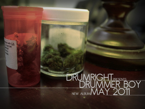 youngdrummerboy:Drumright Presents Young Drummer Boys new album set to drop in May 2011 Album Art and Graphics by Charles Bronson