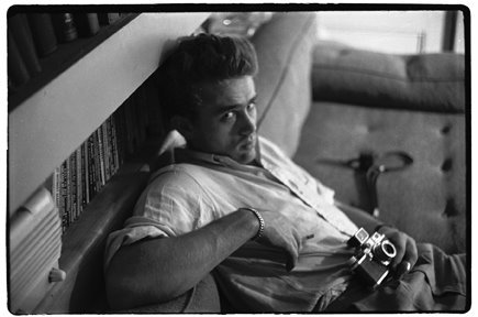 James Dean and his cameras