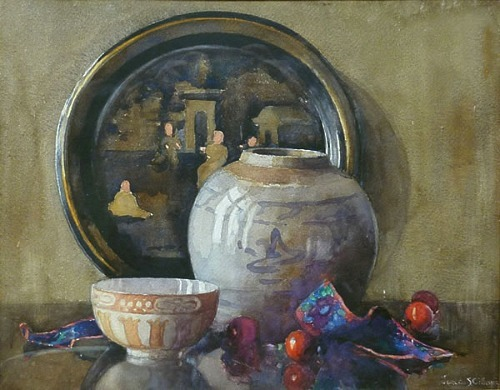 Janetta Gillespie Oriental Still Life Early 20th century