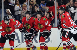 With the Stars' loss in Minnesota, the Chicago Blackhawks secure their spot in the 2011 Stanley Cup Playoffs.