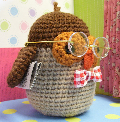 amigurumifreak:  Dr. Hoot 2 by Else10 on Flickr.
