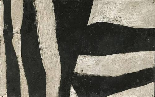 earlyfrost:  Untitled (Black and Gray), 1950by Charlotte Park (via everythingdear)