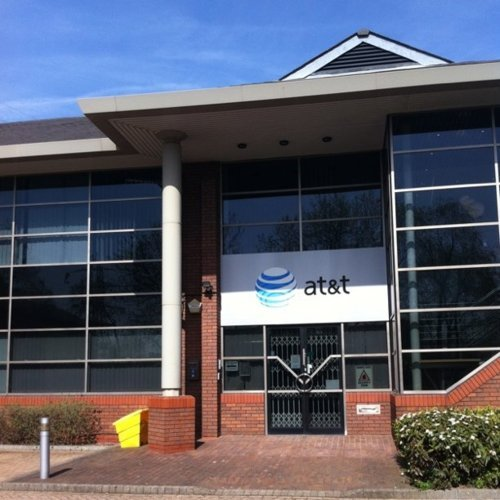 Wtf we have a AT&T office in Slough