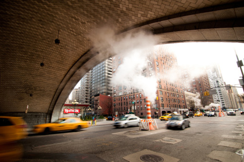 urbandreamscapes:  Under the Queensboro Upper East Side, Manhattan, NYC