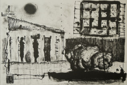 From the series: Sin documentos #3 54 x 36,8 cm Lithograph 2011