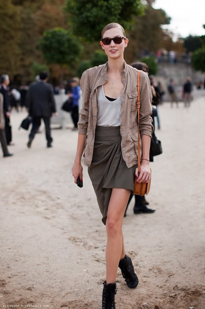 The ever lovely Karlie Kloss…in her natural habitat of course…. Fashionably Adored…by Muah Moi.
