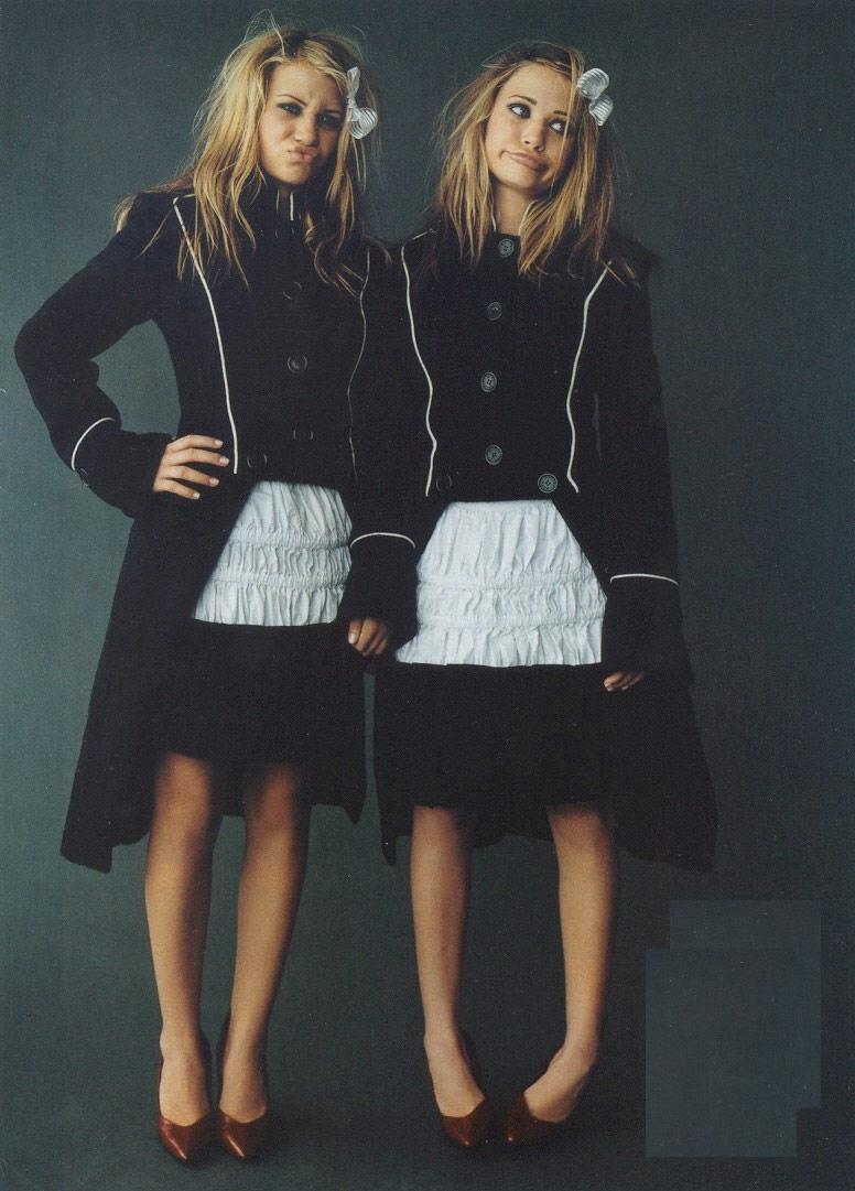 Mary-Kate & Ashley The fashionably deranged, classic, and superbly odd… Adored…by Muah Moi