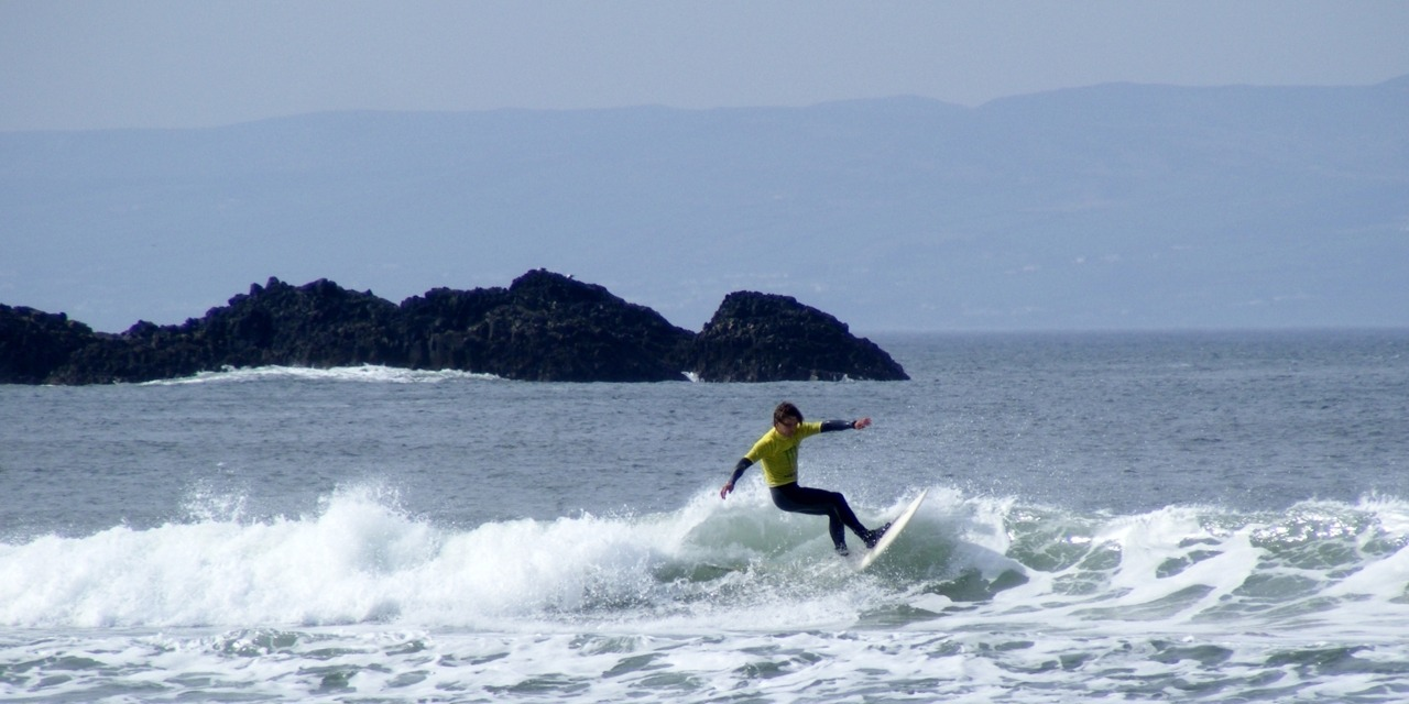 Surf's up, Portrush, Northern Ireland (April 9th 2011)
