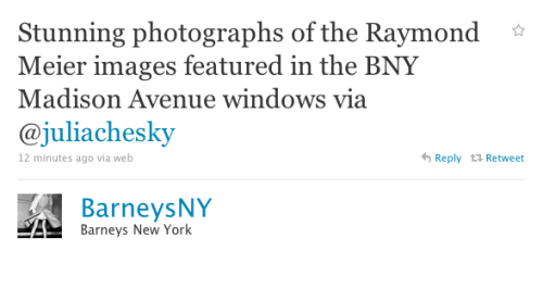 BARNEYS COSIGN. Go to the post, duh!