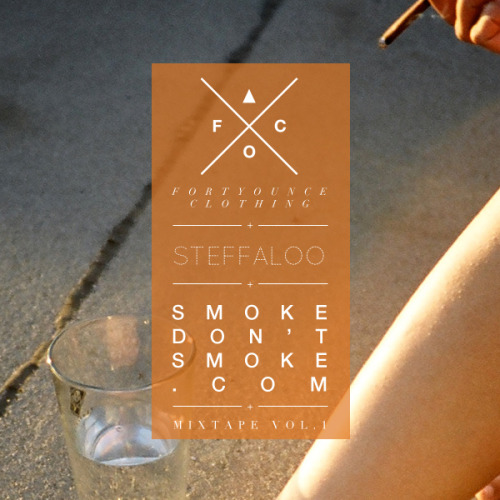 Dope. Download Immediately. :) smokedontsmoke:  I had the pleasure of throwing together this mix for amazing UK based thread company Forty Ounce Clothing. What makes the deal even sweeter is that it's in conjunction with a collaboration t-shirt by my very own sister Steffaloo. So please go download the free mixtape HERE (or click the image above). And buy the rad new tee HERE. ______________________________________ Tracklist :: High Highs - Horses  Oregon Bike Trails - Deep Sea Diver  Writer - Miss Mermaid  Flashing Red Lights - All Our Borders  Sun Glitters - outside (reprise)  Promises- I Was Wrong  Grubby Little Hands - UNEEK  Moon Bounce - Whipped  Abel - Free Birds  Christian AIDS - Fever  MOTHS - summer  Bon Chat, Bon Rat - Blackbird  young minds - ghosting  Echo Tongues - False Start  Youth Lagoon - Cannons