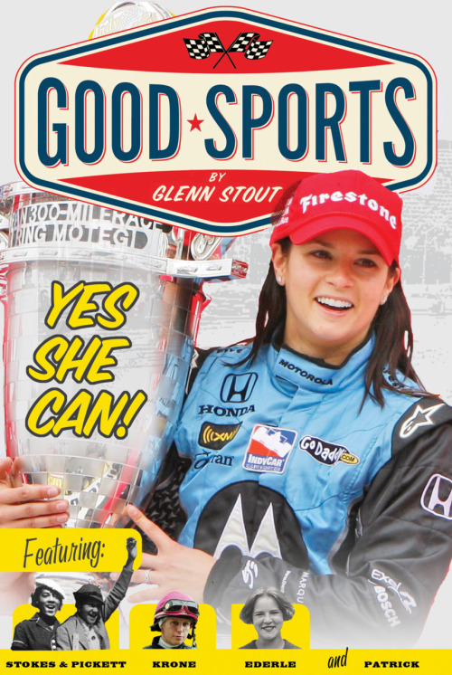 "New this week, YES SHE CAN from the GOOD SPORTS series by Glenn Stout! Girls don't do that.Girls shouldn't do that.Girls can't do that.   Not very long ago, that's exactly what many people said whenever a woman tried to play a sport or do  anything athletic. Most people believed that women were too weak and delicate to play sports.    Fortunately,  not all women believed what they were told. Trude Ederle, Louise  Stokes, Tidye Pickett, Julie Krone and Danica Patrick didn't. When these  sports pioneers were told ""Girls don't,"" they did. When they were told  ""Girls shouldn't,"" they asked ""why not?"" And when they were told ""Girls  can't,"" they showed girls most certainly can. This book tells the story  of these pioneers in women's sports. Thanks to them, everyone knows now  that girls can do anything they want."