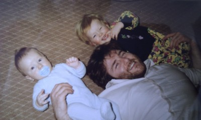 me, my brother and my dad