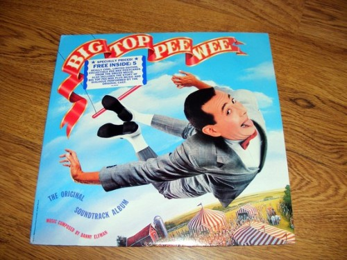 Big Top Pee-wee Vinyl Record with 5 Limited Edition Postcards, Promo Copy  Available HERE.