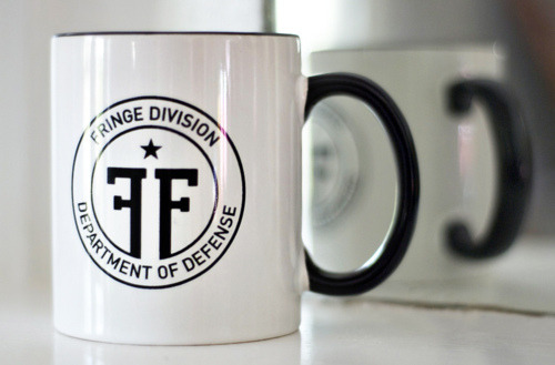 Thanks for the reblogs! I've got a limited run of 30 of these mugs to sell. Anyone who's interested in a mug can find instructions on how to buy them ($15+ shippin') or WIN A FREE ONE (!!!1) on my original post. http://mwwwm.tumblr.com/post/4528973305/win-a-free-fringe-mug-go-to-this-link-and-follow You can bet your coffee will taste so much better in this mug, no foolin'.