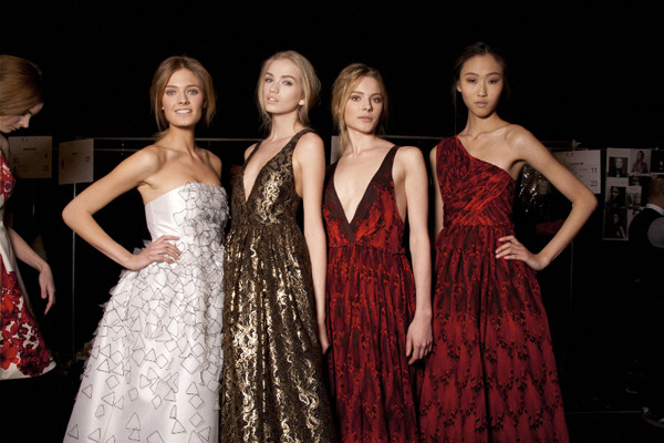 Tibi Fall 2011. The gowns!!