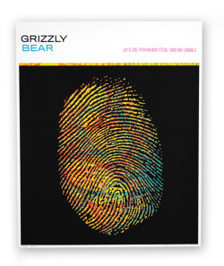 Grizzly Bear | Credit: Hero Design Studio | 16″ x 20″ Silkscreen Poster