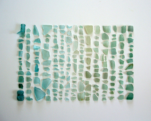dearscience:  Sea Glass Spectrum - Take 1 (by quercus design)