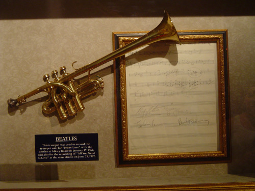 pezzomiano:  Piccolo Trumpet used on Penny Lane and All You Need Is Love.