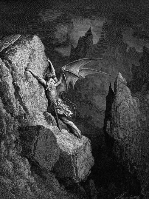 Paradise Lost by Gustave Dore Thanks to Scott