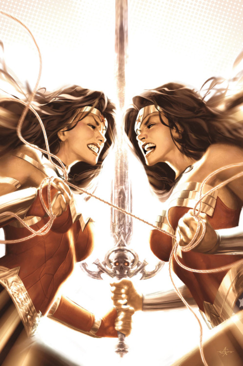 Wonder Woman #613 Variant cover by Alex Garner
