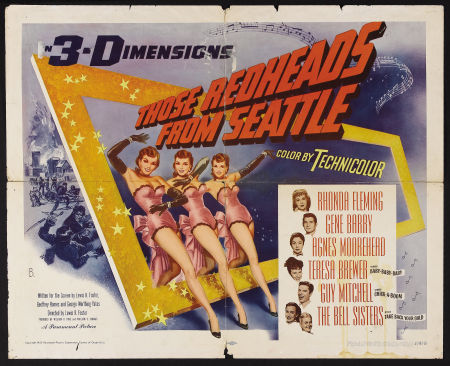 'Those Redheads from Seattle' 1953 playin while I work. Love the costuming!