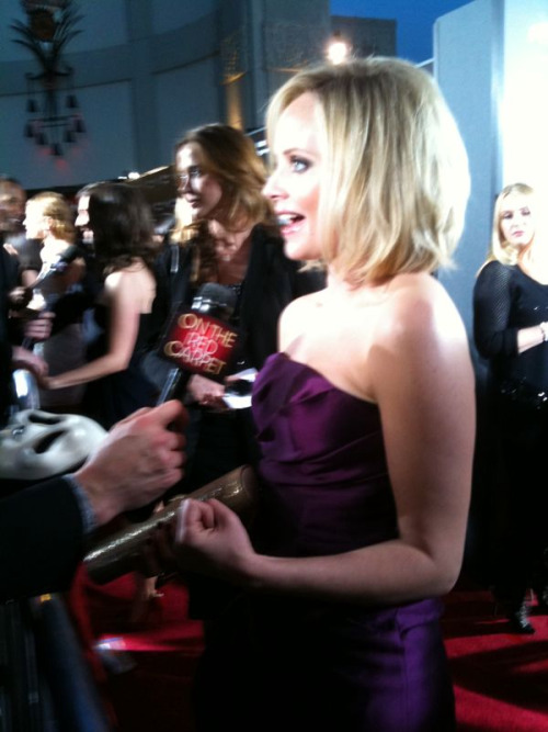 Marley Shelton at the red carpet premiere of her new movie SCREAM 4! Photo by: Screenslam.com