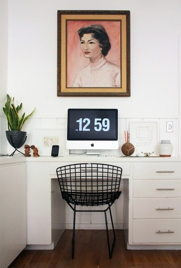 Home Office Romance: Table & Chair Pairings