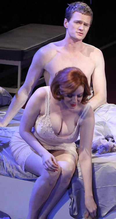 Christina Hendricks + NPH wow
