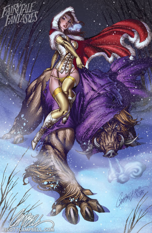 J. Scott Campbell's Beauty and the Beast