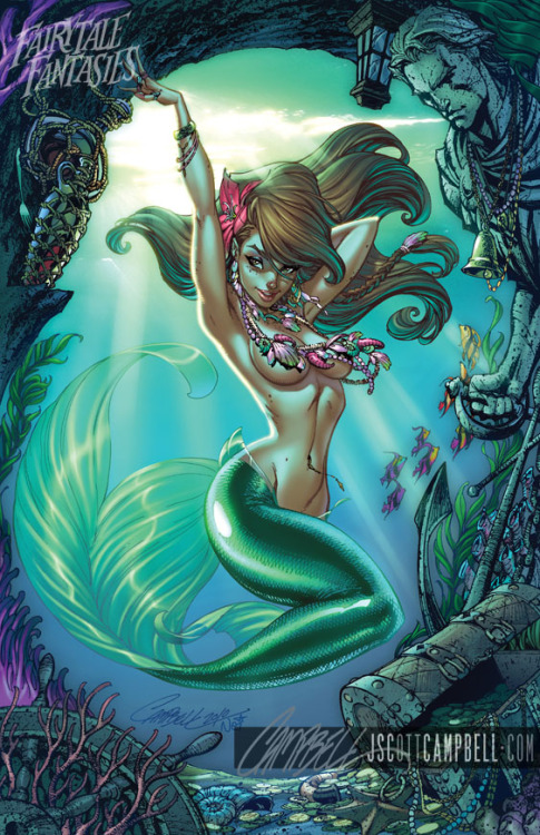 J. Scott Campbell's Little Mermaid