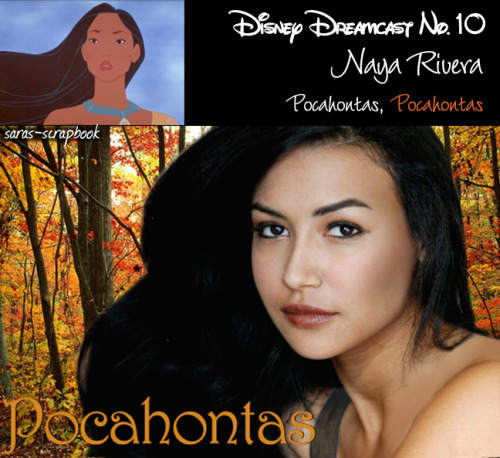 Disney Dreamcast No. 10 - Naya Rivera as Pocahontas (made by me)