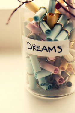 Collect your dreams..